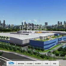 VR工厂布局规划展示,虚拟现实流程模拟,北京华锐视点