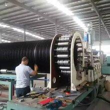 PE克拉增强管生产线内肋增强管挤出设备安全环保青岛佳特厂家直销图片