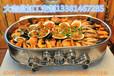 水晶烙锅、海鲜大咖盘