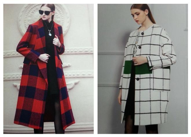 新款明眸冬装中长款女大码羊毛毛呢外套到货