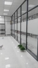 深圳办公隔断高隔墙铝合金隔断玻璃隔断百叶隔墙隔断厂家图片