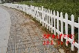 西安格拉瑞斯批批发定做安装PVC护栏园艺护栏