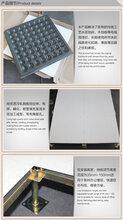 沈飛防靜電地板v型槽全鋼無邊地板圖片