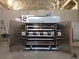 苏州银邦汽车零配件专用干燥箱_推车托盘式干燥箱