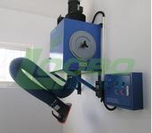 双滤筒移动式自动清灰焊接烟尘净化器设备图片