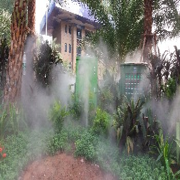 步行街喷雾降温系统