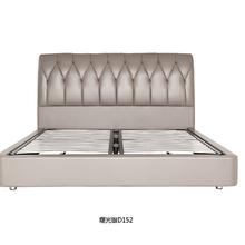 奢爱现代时尚真皮软床,卧室气动软床