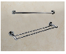 雙層置物架定制丨不銹鋼浴室毛巾架定制廠家