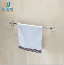 太空铝型材毛巾架厂家丨双杆毛巾杆生产