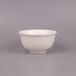 纯白骨瓷碗唐山陶瓷厂家批发4.5寸金钟碗高足金钟碗米饭碗
