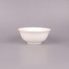 陶瓷小碗批发唐山纯白骨瓷餐具4寸碗4.5寸碗汤碗酒店用瓷