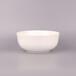 批发碗唐山纯白骨瓷餐具7寸直口碗冷面碗厂家骨瓷餐具定做