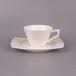 贵族咖啡杯碟欧?#28966;?#29943;餐具唐山纯白骨瓷咖啡杯碟批发