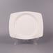 欧式贵族骨瓷盘批发唐山纯白骨瓷餐具贵族8寸平盘家用凉菜盘