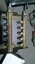 市南清洗地暖班芙春天地暖清洗市南暖气改造维修换分水器图片