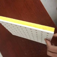 隔音好电梯井吸音板安全可靠,波浪形电梯井吸声板图片