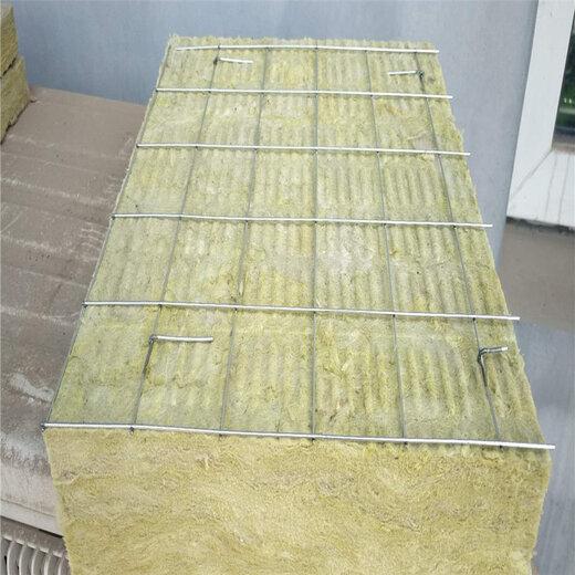 云南竖丝岩棉复合板厂家定制,竖丝岩棉板