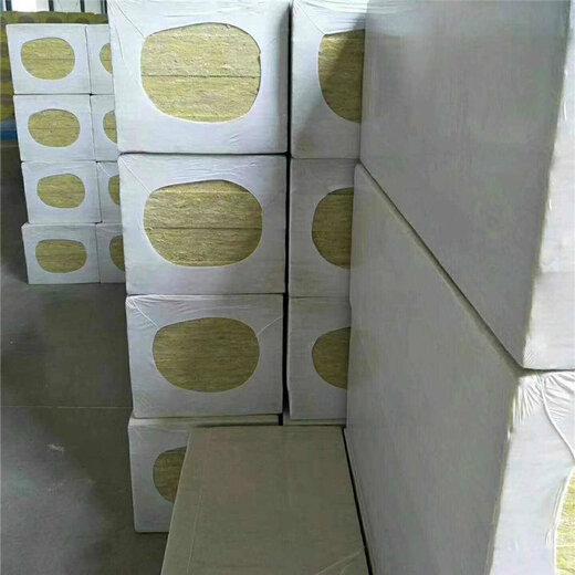 河南豎絲巖棉復合板現貨供應,砂漿巖棉板