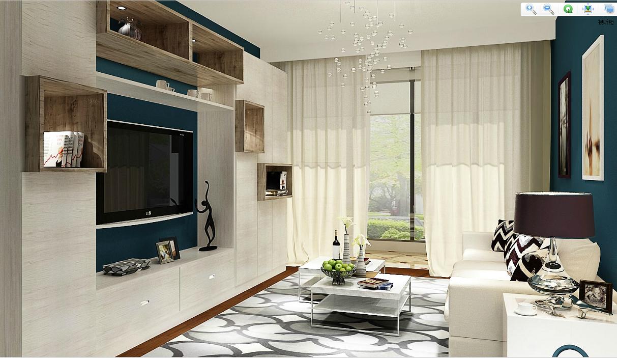 翰诺威衣柜 型号: 定制家具 关键词: 定制视听柜,定制电视柜,客厅