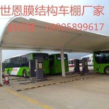 云南省楚雄停车棚制作安装车棚厂家膜布定制图片