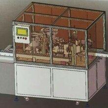 东莞三缘专业生产圆柱电池全自动激光焊盖帽机