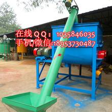 化肥原料螺旋提升机304不锈钢材质提升机颗粒盐螺旋提升机图片