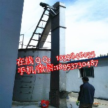 石灰粉斗式提升机化肥颗粒斗式提升机不锈钢斗式提升机高距离10米提升机图片