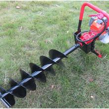 省工立式挖坑机电动挖坑机适?#32454;?#31181;地形图片