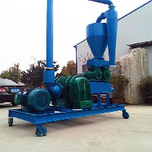 贵阳市塑料颗粒气力吸粮机水泥粉气力输送机定做图片