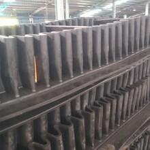 波状挡边爬坡输送机带防尘罩机场行李装卸车输送机图片