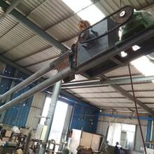 芜湖不锈钢?#20960;?#30424;片链条管链提升机厂家陶土管链式输送机图片