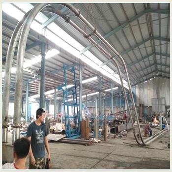攀耐腐蚀管链输送机厂家颗粒管链输送机