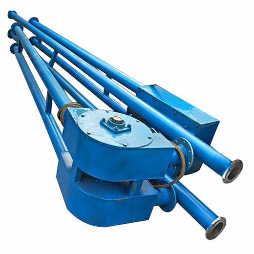 潍坊市多口入料型管链输送机粉料装罐管链输送机报价