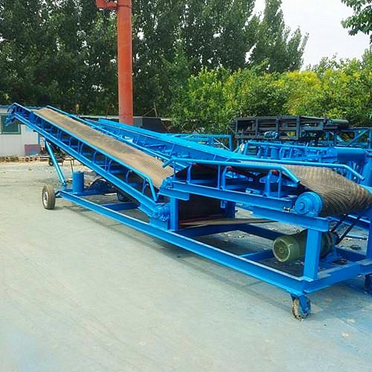 农用土豆装车输送机箱装饮料装车输送机800带宽U型输送机直销