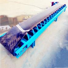 稻谷装车皮带输送机600带宽防滑输送机咖啡豆装车输送机生产图片