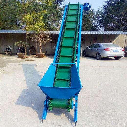 化肥厂装车用输送机防滑带式沙子输送机楼层上下货物输送机生产