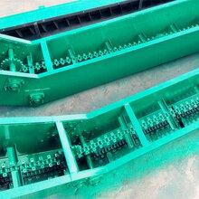 汉中市沙土刮板输送机铸钢T型刮板输送机厂家qk图片