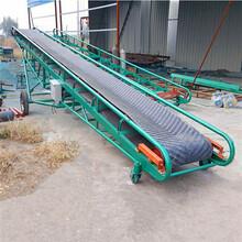 长治市槽型散颗粒输送机移动式沙子输送机批发qk图片
