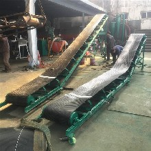 廊坊市粮食袋装车输送机废旧钢管装车皮带机厂家qk图片