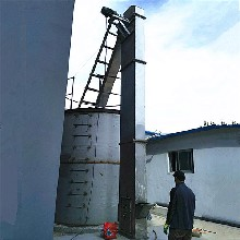 潍坊市菜籽斗式提升机钢砂链式钢斗提升机加工qk图片