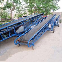 天津市V型槽通用输送机建筑垃圾传送输送机直销图片