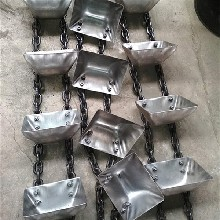 深圳市NE100斗式提升机环链钢斗粉末提升机价格qk图片