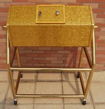 金色抽奖箱黑色抽奖箱透明抽奖红色抽奖箱咖啡色抽奖箱