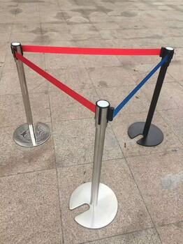 不锈钢栏杆座隔离带栏杆座人群排队栏杆座不锈钢立柱