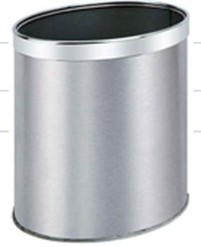 不锈钢垃圾桶客房桶房间桶定制垃圾桶高档双层客房桶
