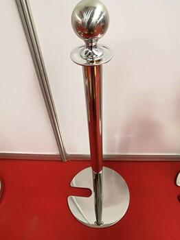 挂绳栏杆座贵宾栏杆不锈钢立柱不锈钢圆球栏杆座