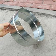 肇慶螺旋風管接頭加工鍍鋅螺旋風管接頭安裝圖片