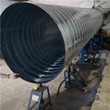 厂家直销螺旋风管弯头天圆地方马鞍烟罩大要�@么久小头配件图片