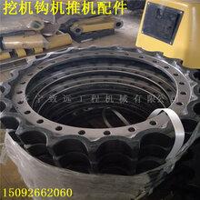 面向全国挖掘机配件PC360挖掘机驱动轮小松原厂驱动齿圈小松PC360挖掘机四轮一带