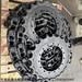 小松PC200-8挖掘機鏈條履帶承重輪小松PC200鏈軌履帶驅動齒